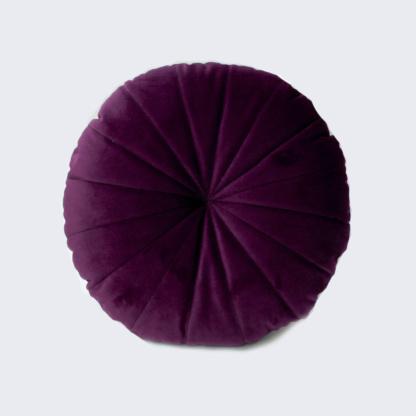 Bunni Velvet Circle Scatter - Aubergine