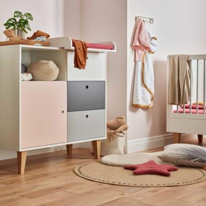 Concept Compactum/Dresser - Pink
