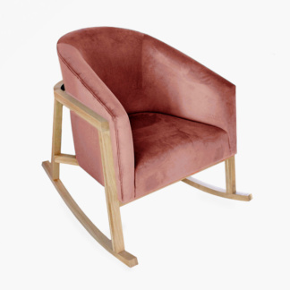 Demi Rocking Chair Dusty Rose