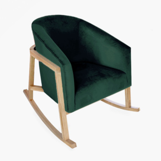 Demi Rocking Chair Emerald Green