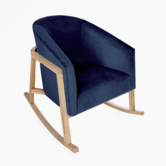 Demi Rocking Chair Midnight Blue