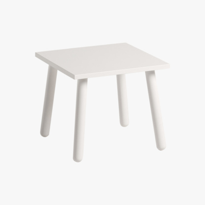 Match Stool in White