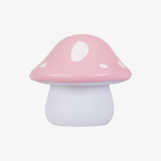 A Lovely Little Company Mushroom Little Light - Pink