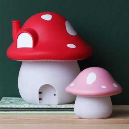 A Lovely Little Company Forest Mushroom House Night Light