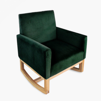 Thea Rocking Chair Emerald Green