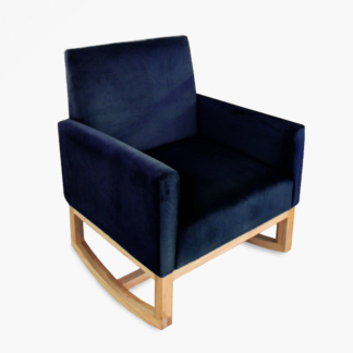 Thea Rocking Chair Midnight Blue