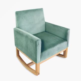 Thea Rocking Chair Seafoam