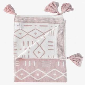 Aztec Blanket - Rose