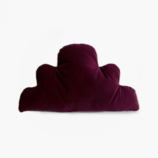 Moo Cachoo Aubergine Velvet Cloud Scatter