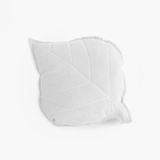 Leaf Scatter - Signature Cloudy White