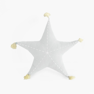 Sea Star Scatter with Tassels in Cloudy White