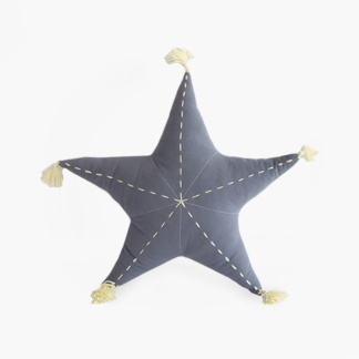 Sea Star Scatter with Tassels in Dusky Blue