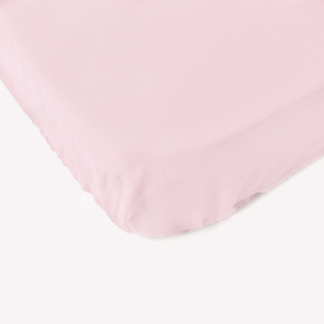 Nude Pink Fitted Sheet