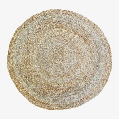 Round Woven RuRound Woven Rug - Mediumg - Small